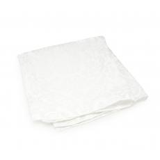 Платок-паше белый с тиснением