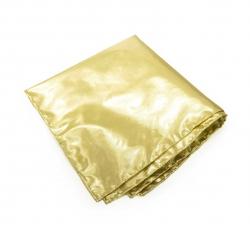 """Платок-паше """"Золотой слиток"""", нагрудный платок золотого цвета"""