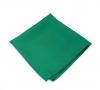 Галстук зеленый в клетку №3, шерсть