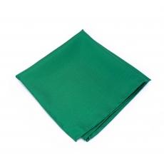 """Платок-паше """"Зеленый твил"""", шелковый нагрудный платок"""
