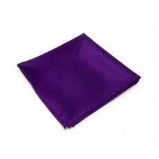 Фиолетовый платок-паше из натурального шелка