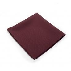 """Платок-паше """"Бордовый твил"""", шелковый нагрудный платок"""