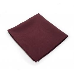 """Платок-паше """"Бордовый твил"""", натуральный шелк"""