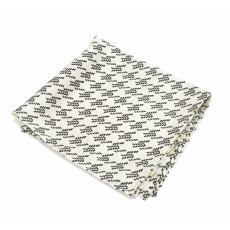 Платок-паше №4, шелковый нагрудный платок с узором