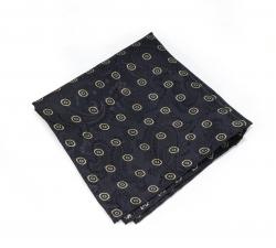 """Платок-паше """"Гранд"""", шелковый нагрудный платок с узором"""