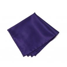 Темно-фиолетовый платок-паше из натурального шелка
