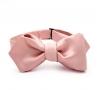 Розовая галстук-бабочка