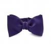 Темно-фиолетовая галстук-бабочка, шелк