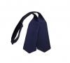 Синяя галстук-бабочка, самовяз из натурального шелка