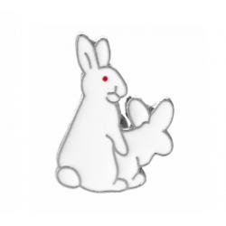 """Значок """"Белые зайцы"""""""