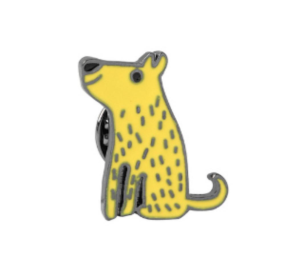 """Значок """"Желтая Собачка"""""""