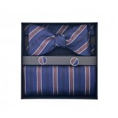 "Набор ""Аристократ"" (галстук-бабочка, платки-паше, запонки)"