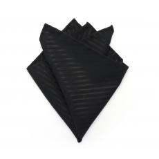 "Платок-паше ""Нуар"", нагрудный платок из хлопка"