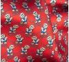 """Шейный мужской платок Аскот из натурального шелка с узором """"Мишка-моряк"""""""