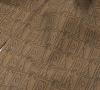 """Шейный мужской платок Аскот из натурального шелка с узором """"Благородный бежевый"""""""