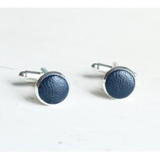 Запонки Крылья Бабочки (синие)